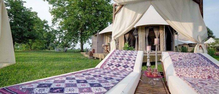 luxus glamping in der n he von venedig was alles m glich ist campingdreams campingblog. Black Bedroom Furniture Sets. Home Design Ideas
