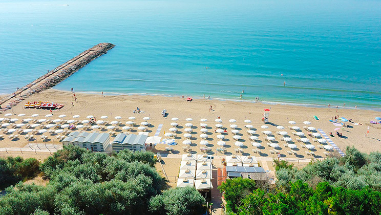 Mobilheim Mieten Italien Adria : Italien adria camping mediterraneo aldi reisen